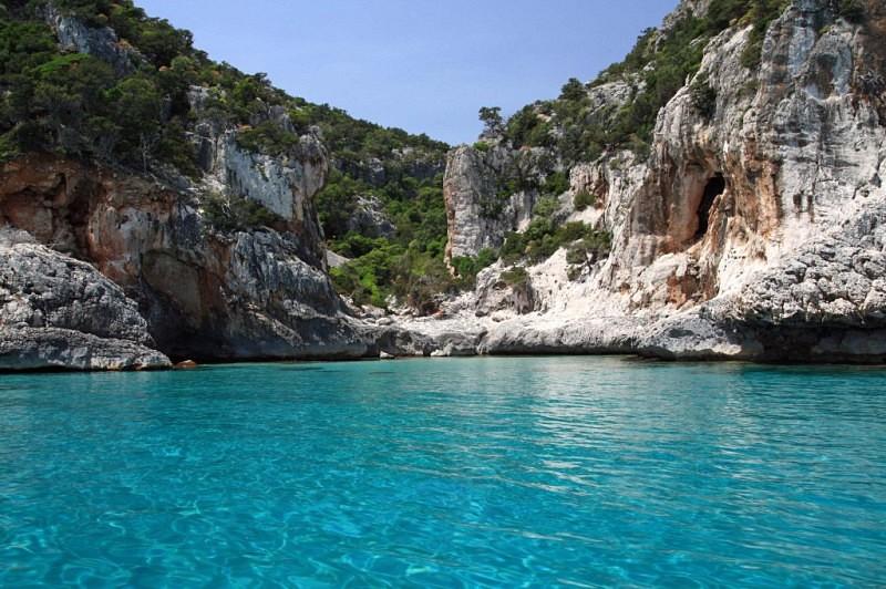 Sardinien Cala Luna, Region Golf von Orosei im Osten von
